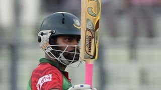 Tamim Iqbal's 83 propels Bangladesh to 153/7 against Netherlands in Group A, Round 1 match at ICC World T20 2016