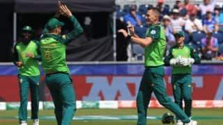 Cricket World Cup 2019: Pretorius, Morris bowl out Sri Lanka for 203