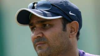 Virender Sehwag slams century to give MCC six-wicket win against Durham