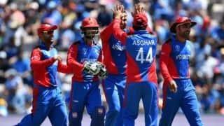 Cricket World Cup 2019 – Dawlat, Shinwari in as Afghanistan opt to bowl in Southampton