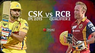 Live Cricket Score Chennai Super Kings vs Royal Challengers Bangalore, IPL 2015 Qualifier 2 at Ranchi, CSK 140/7 in 19.5 overs: CSK enter final once again