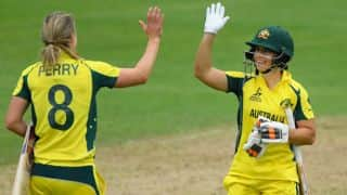 ICC Women's World Cup 2017: Nicole Bolton's hundred guides Australia to 8-wicket win over West Indies