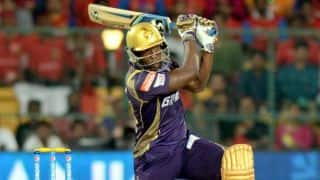 Andre Russell, Yusuf Pathan get Kolkata Knight Riders on track against Kings XI Punjab in Match 44 of IPL 2015