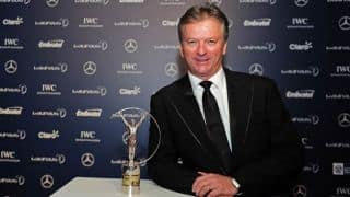 Steve Waugh in Mumbai to visit the Magic Bus project