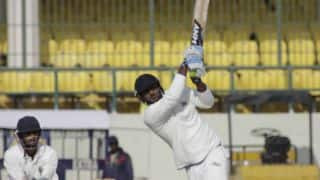 Pankaj Jaiswal enters Ranji Trophy record books; hits second fastest fifty in First-Class cricket