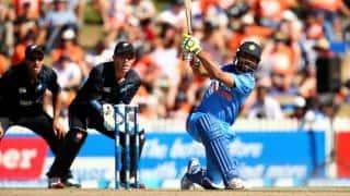 Dhoni, Jadeja boost India to 278/5 in 4th ODI