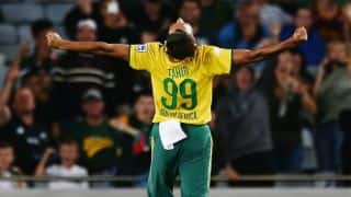 Imran Tahir's 5-for rattles hosts; visitors' win by 78 runs