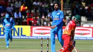 Barinder Sran credits Ashish Nehra, Bhuvneshwar Kumar following memorable T20I debut