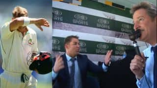 Watch how commentator's curse led to David Warner's first dismissal in 90s