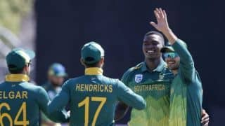 Lungi Ngidi: We're fast bowlers and there's no way we're not going to bowl short
