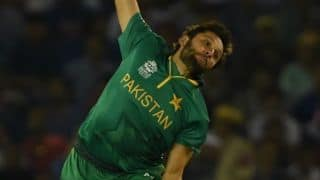 Shahid Afridi to lead World XI vs West Indies; Eoin Morgan ruled out