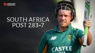 AB de Villiers, Morne van Wyk fifties take South Africa to 283 for 7 against New Zealand