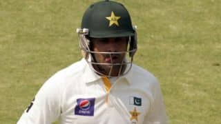 Pakistan vs New Zealand 2014, 3rd Test at Sharjah; Pakistan reach 82/1 at lunch