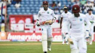 West Indies vs England, 2nd Test Day 2: Rain halts Marlon Samuels's century charge