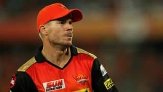 David Warner: Was on Hyderabad group chat and kept getting messages last year