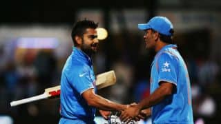 Virat Kohli should get a credit for putting faith in MS Dhoni says Sourav Ganguly