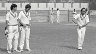 Vic Marks on England's 1984-85 tour to India, his TMS debut in Delhi, a World Cup record and his memoir