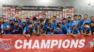 Asia Cup 2018: India's record in Asia Cup finals