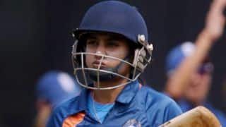 Captain Mithali Raj says India's first goal is to reach the semifinals