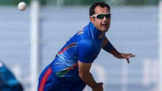 UAE set Afghanistan challenging 274 to win 3rd ODI