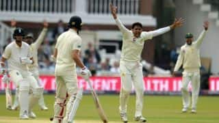 Pakistan vs England, 1st Test: Visitors 50 for 1 after dismissing England for 184 at stumps, Day 1
