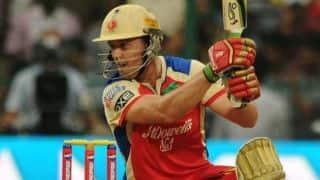 AB de Villiers playing his 100th Indian Premier League game