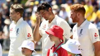 The Ashes 2017-18: Joe Root backs struggling Alastair Cook, Stuart Broad