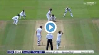VIDEO: Yasir Shah's does a Shane Warne to Gary Ballance