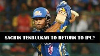 Sachin Tendulkar to make a comeback in IPL 2015?