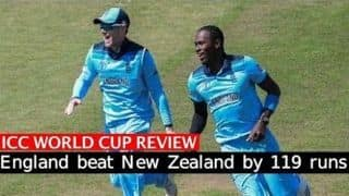 Cricket World cup 2019, ENG vs NZ: England pummel New Zealand to enter World Cup semifinals