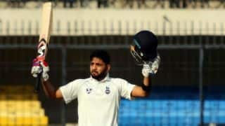 Board President XI vs South Africa A: Dhruv Shorey hits century in drawn game