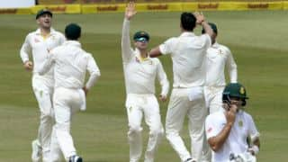 South Africa 4 down before lunch on Day 4, need 354 more to win 1st Test vs Australia