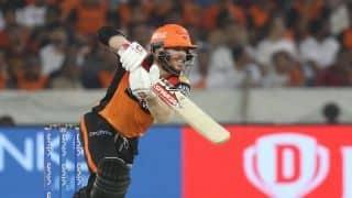 सैमसन के शतक पर वार्नर का अर्धशतक भारी, हैदराबाद को मिली पहली जीत