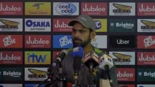 WATCH: I play every game as if it's my last, says Mohammad Hafeez