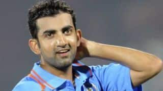 When playing in the Ranji Trophy in 12th standard changed Gautam Gambhir's destiny