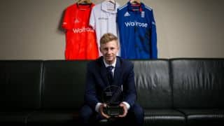 Joe Root named England's 'Cricketer of the Year'