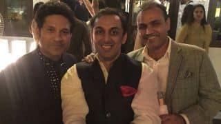 Rohan's sarcastic tweet involving Tendulkar, Sehwag