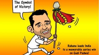 Ajinkya Rahane leads India to a memorable series win against Australia on Gudi Padwa