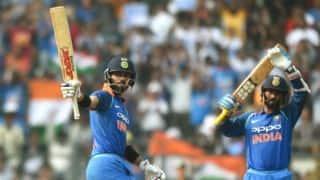 India vs New Zealand, 1st ODI at Mumbai: Virat Kohli's 31st hundred propels hosts to 280/8