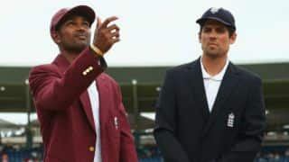 West Indies vs England 2nd Test Day 1 at Grenada: Kraigg Brathwaite's early dismissal, Marlon Samuels' unbeaten 94 and other highlights