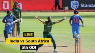 Highlights, India vs South Africa 2017-18, 5th ODI: India win maiden ODI series in South Africa
