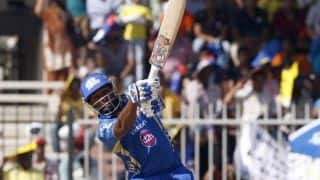 Kieron Pollard goes berserk in Mumbai Indians vs Sunrisers Hyderabad, IPL 2014