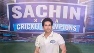 Sachin Tendulkar launches mobile game 'Sachin Saga Cricket Champions'
