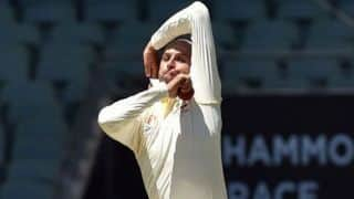Lyon will enjoy bowling with amount of bounce on offer: Finch