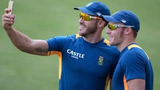 Du Plessis thinks Miller has become world-class batsman