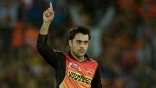 Rashid Khan takes most IPL wickets among overseas leg-spinners
