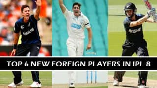 Indian Premier League (IPL) 2015: Top 6 new foreign players in IPL 8
