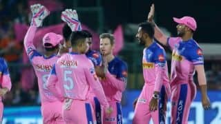 IPL 2019: Rajasthan team looks to keep playoffs hopes alive against Bangalore