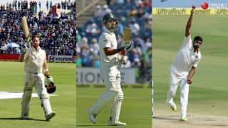 Smith claims top position; Kohli, Ashwin retains spot in ICC Test rankings