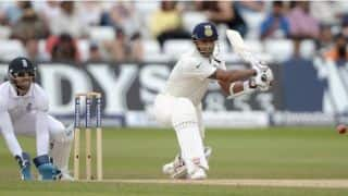 Stuart Binny's fifty on Test debut takes India to 347/8 at tea as 1st Test heads for a draw